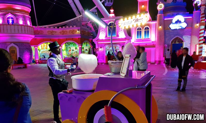 cotton candy global village