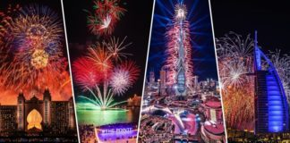 fireworks in dubai places