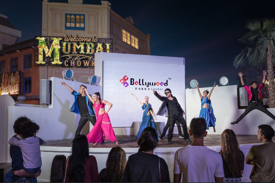 Bollywood Parks Dubai 1 day 1 park admission