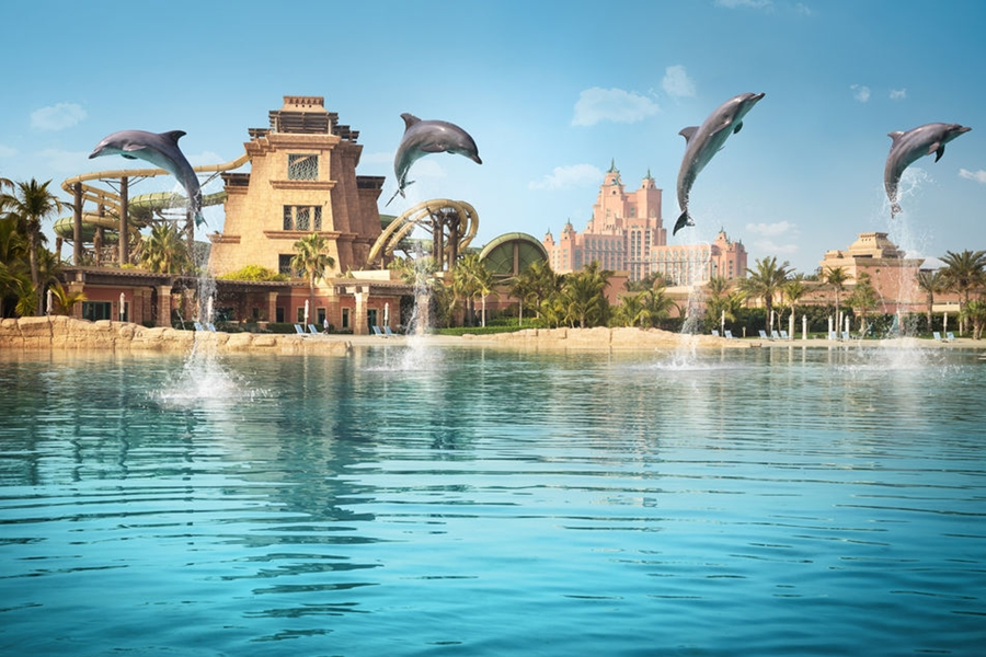 Dubai's Aquaventure Waterpark at Atlantis the Palm