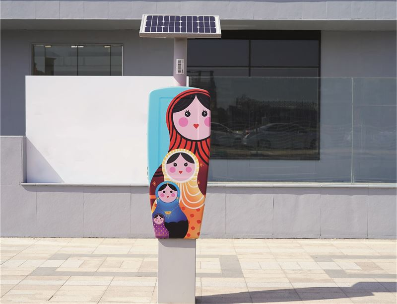 LOOK New Project Turns Parking Metres into Works of Art