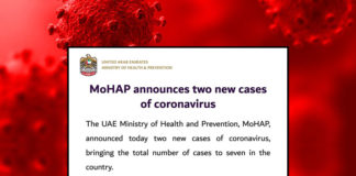 two new cases coronavirus uae