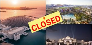 Abu Dhabi Closes Main Tourist Spots to Prevent COVID-19 Spread