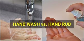 Hand Washing vs. Hand Rubbing to Prevent the Spread of Diseases