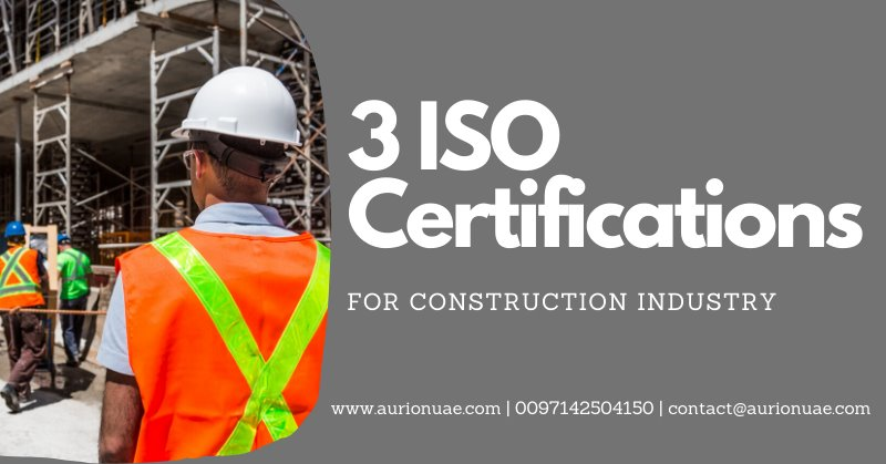 ISO Certification for Construction