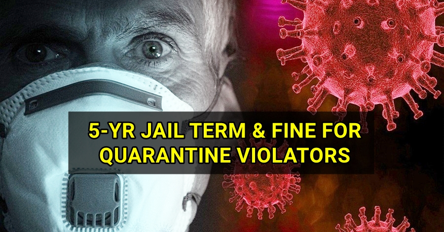UAE Quarantine Violators can face AED 100,000 Fine and 5 Years Jail Time