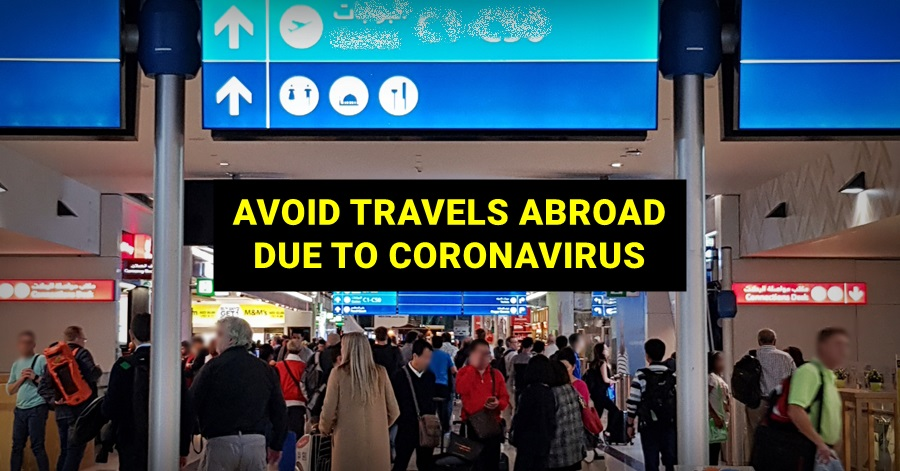 avoid travel abroad due to covid-19