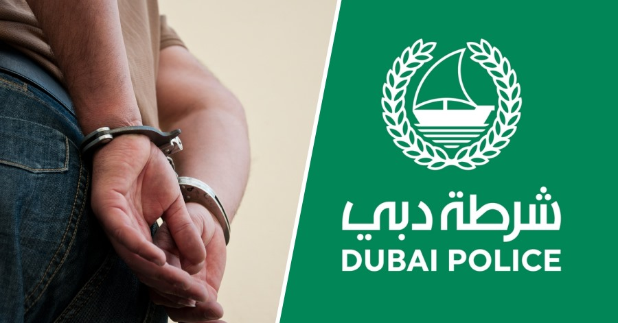 dubai police arrest asian man breaking stay home rule