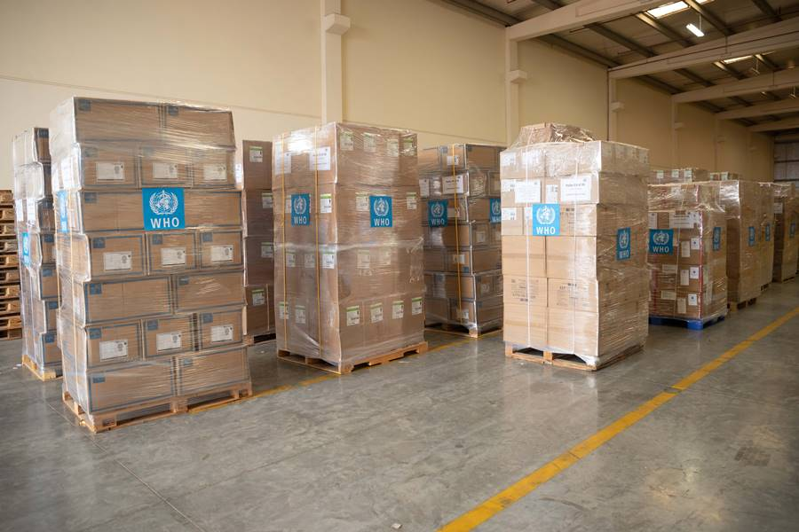 medical supplies delivery to iran