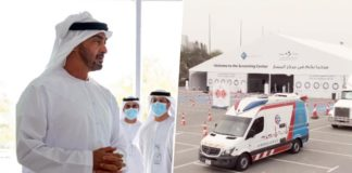sheikh mohamed orders launch of test centers uae