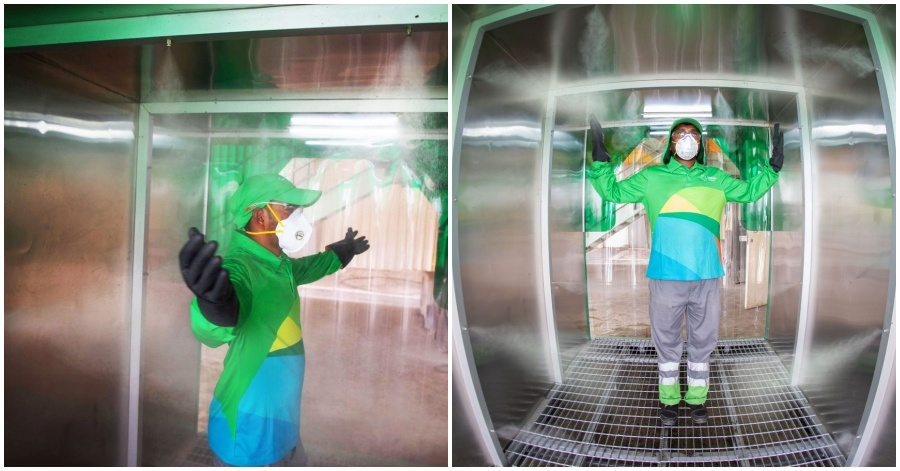 LOOK Disinfection Pods for Businesses Launched in UAE