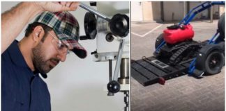 UAE Inventor Tests COVID-19-Fighting Robot to Disinfect Homes