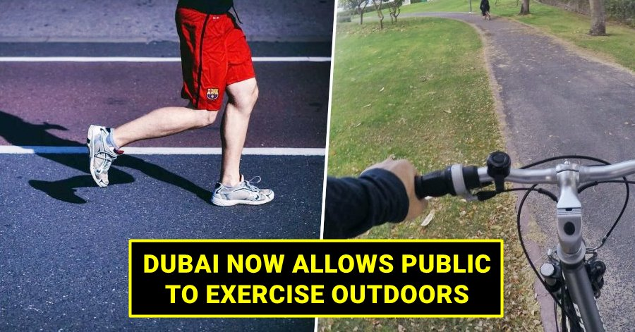 exercise outdoors dubai