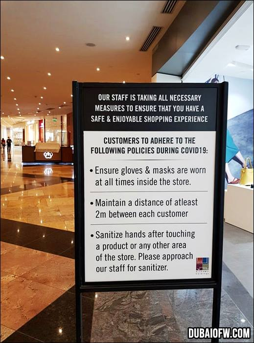 Customers are to adhere to strict rules