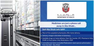 UAE Launches Medicine Home Delivery Service for Residents