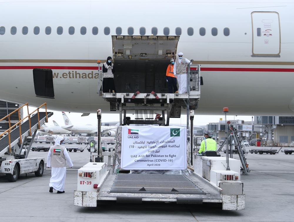 uae aid for pakistan