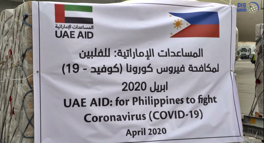 uae aid for philippines for coronavirus