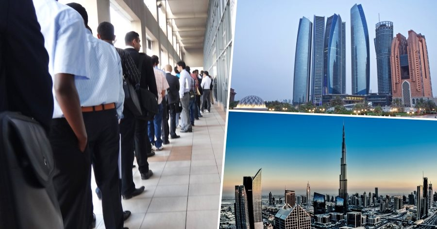how to easily get a job in uae