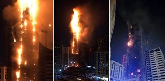 sharjah tower fire abbco tower