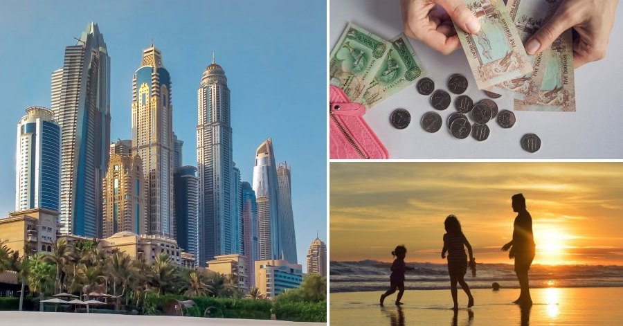 cost of living family of 3 in dubai