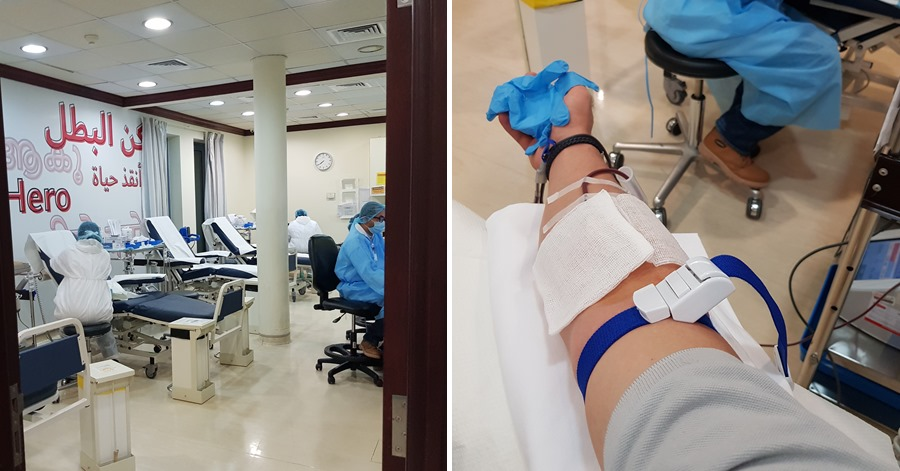 guide to donating blood in dubai