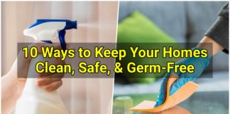 keep home clean and safe