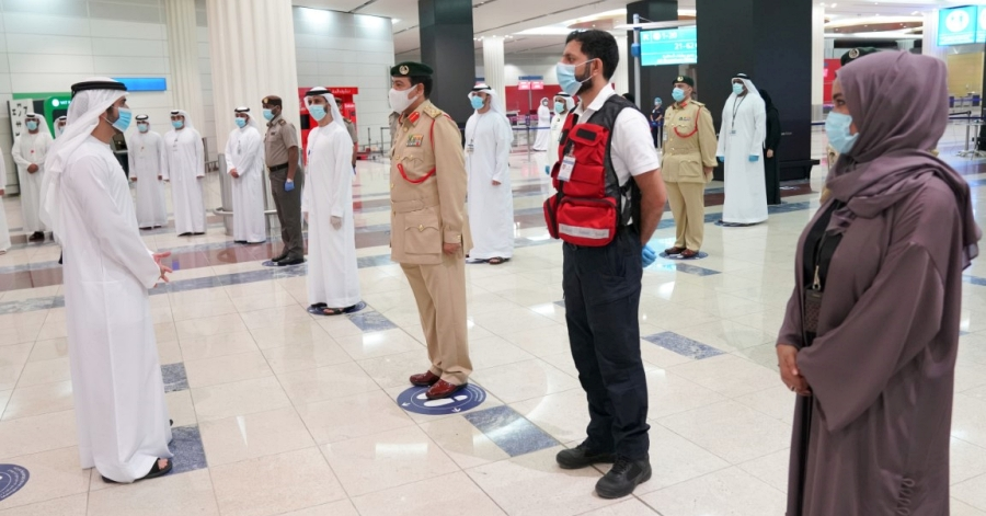 Here's How Dubai Airport Enforces Strict Measures to Ensures Safety Among Staff, Passengers Against Covid-19