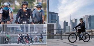 photos of sheikh mohammed dubai ruler cycling