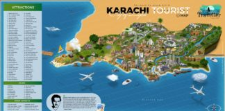 tourist attraction map of pakistan