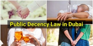 Public Decency Law in Dubai