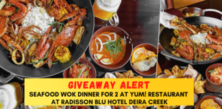 Seafood Wok Package Giveaway Radisson Blu Dubai Deira Creek