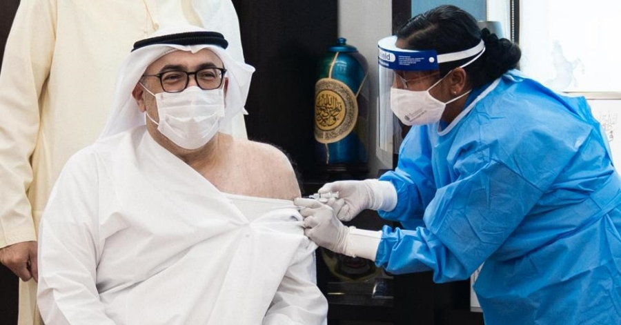 [LOOK] UAE Health Minister Among First to Receive COVID-19 Vaccine