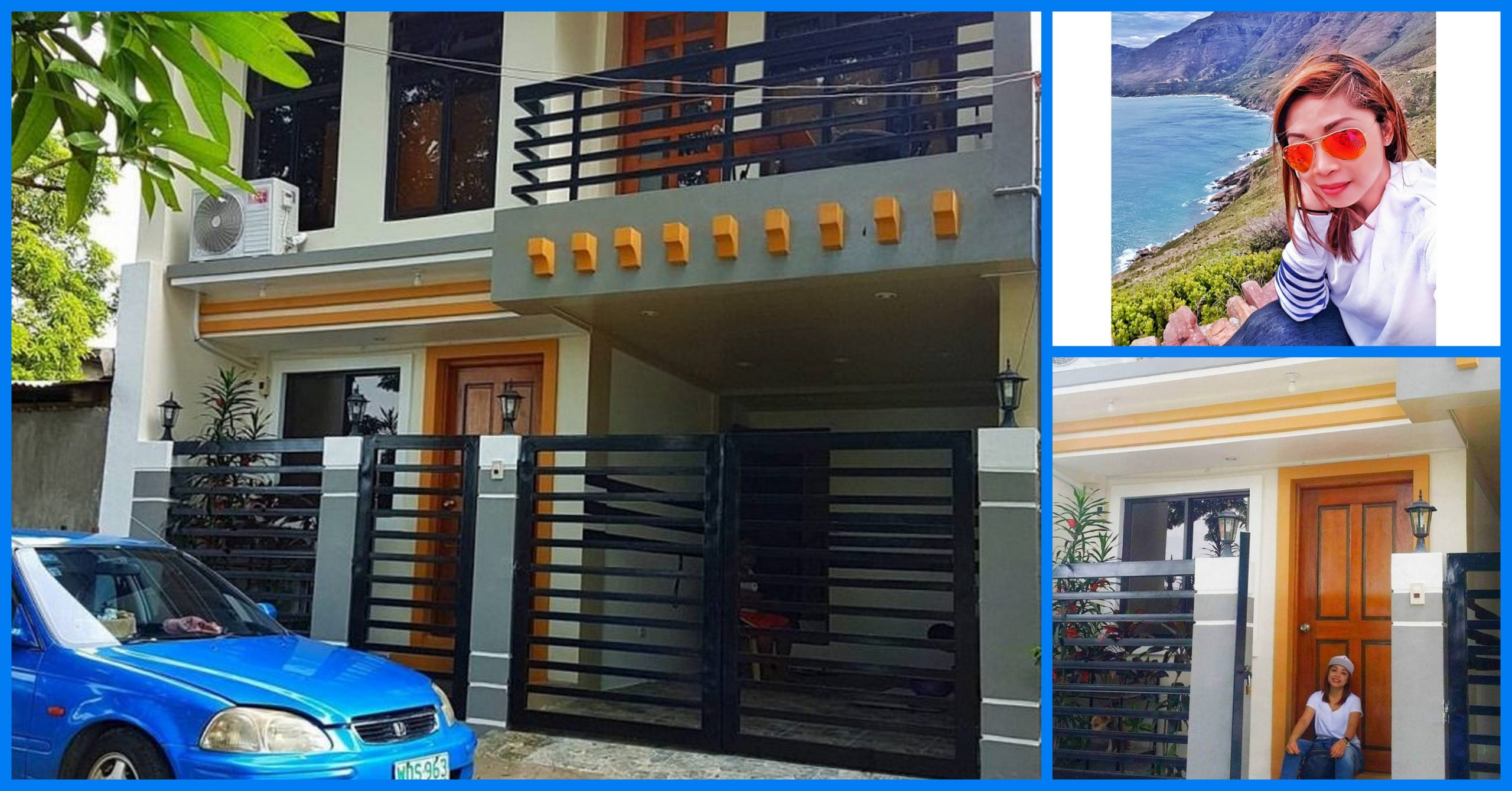 [Video] Dubai OFW Shares Transformation of Simple Bungalow House to 2-Storey Dream House with Roof Deck