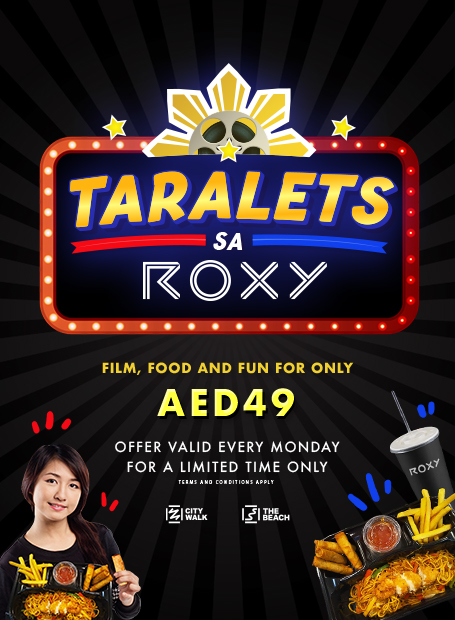 roxy cinemas filipino offer