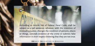 Warning: Sharing False Information to Mislead Justice Could Land You in Jail - UAE Public Prosecution