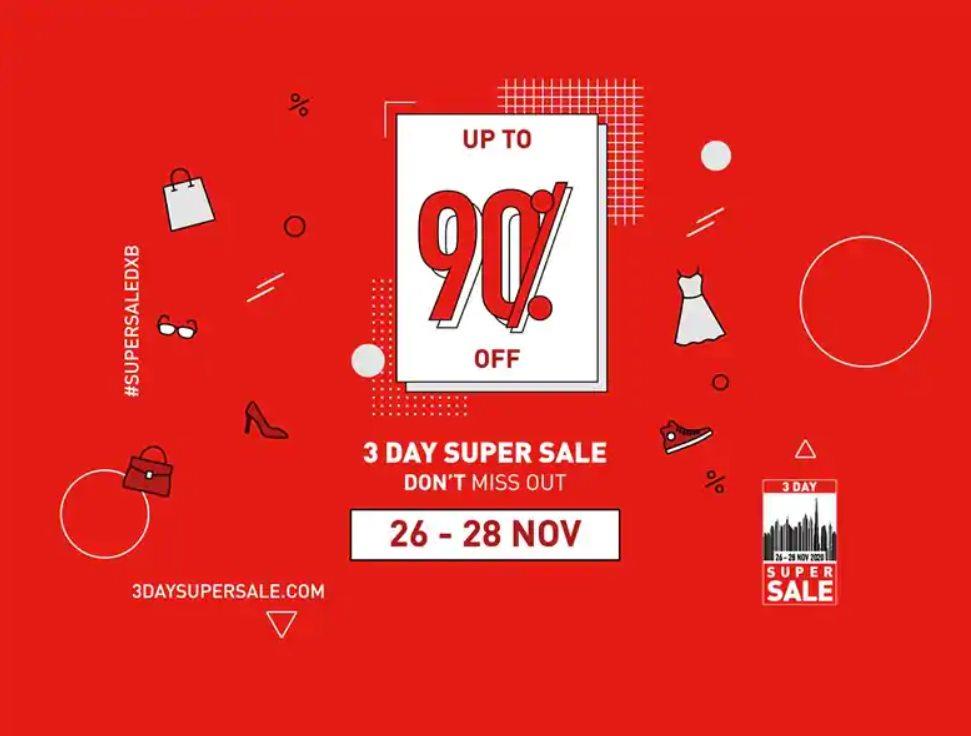 3 day super sale dubai