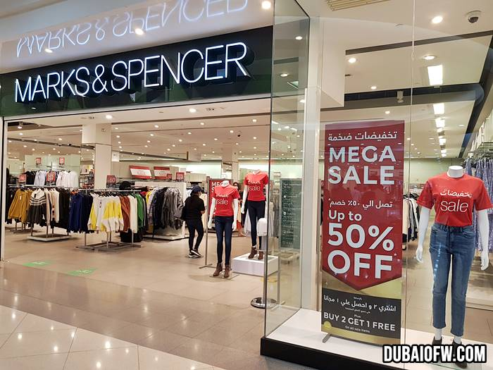 Marks & Spencer Dubai Store sale