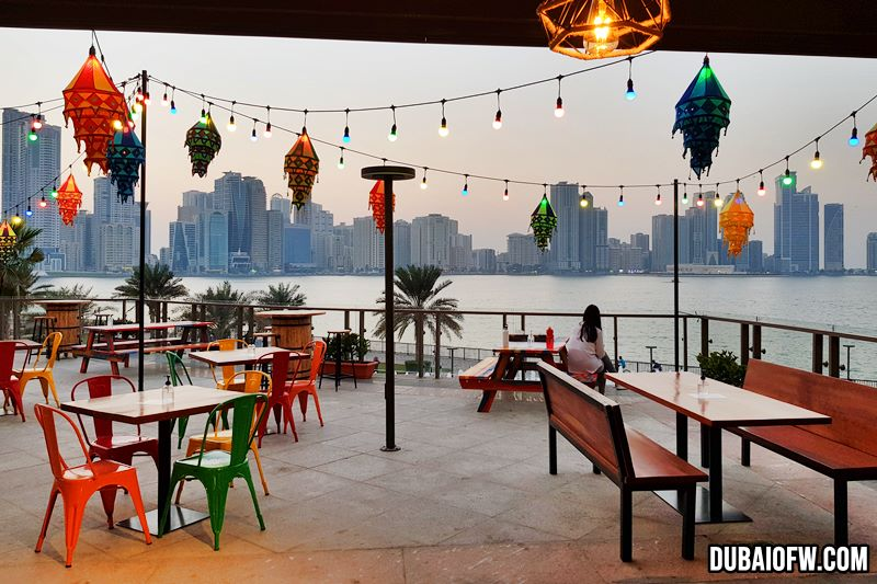 view from Spice Grill - Al Majaz Waterfront