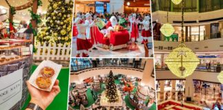 Christmas in Mall of the Emirates season