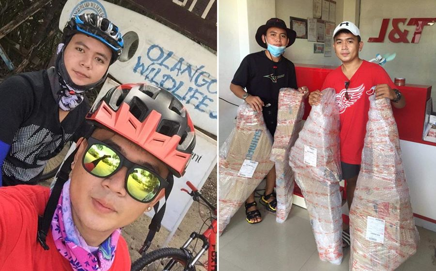 Susan's sons working hard so their other won't have to continue being an OFW.