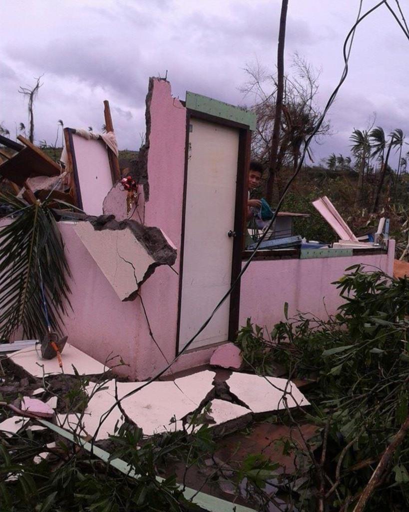 ofw domestic helper house destroyed