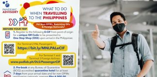 pandemic advisory travel to philippines rules