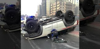 traffic accidents dubai uae