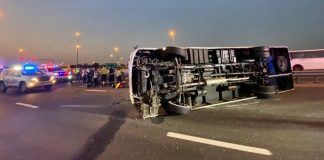 bus accident dubai umm suqeim