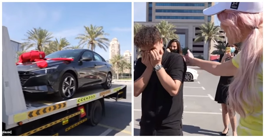 Video: Supercar Blondie Surprises Filipino in UAE with Brand New Car