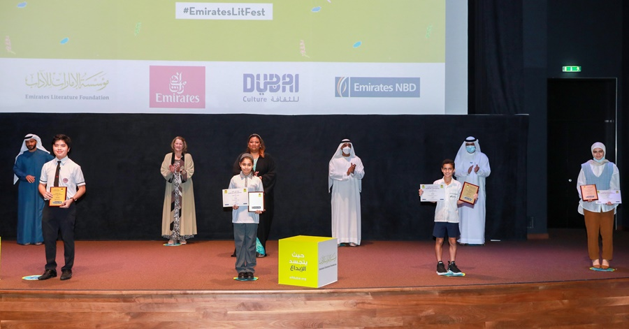 2 Young Filipinos Bag Top Awards at the 2021 Emirates Festival of Literature 2021