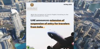 UAE Suspends All Travel to India Until Further Notice
