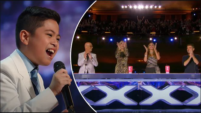 10-Year-Old Filipino from Abu Dhabi Wows America's Got Talent Judges
