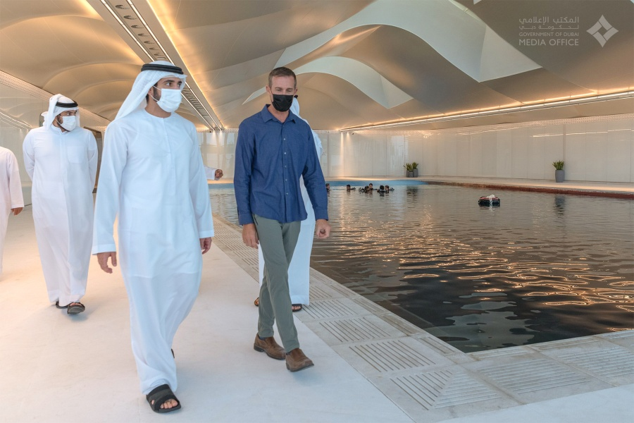 World's Deepest Swimming Pool Opens in Dubai
