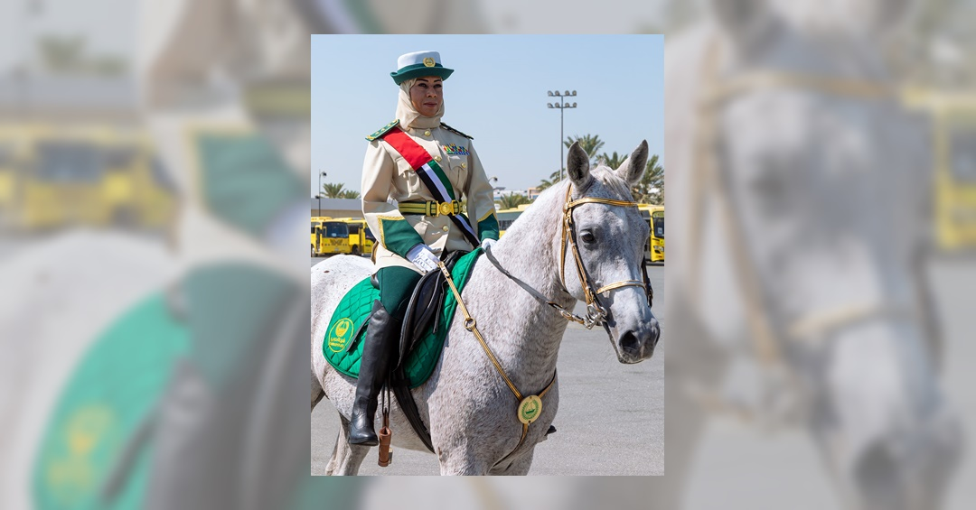 Dubai Names Its First Female Mounted Police Officer